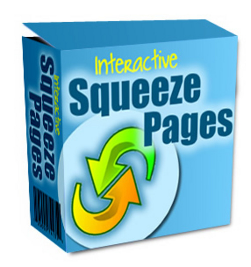 Product picture Interactive Squeeze Pages