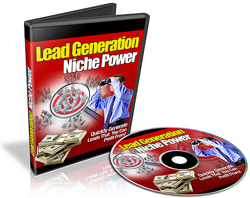 Product picture  Lead Generation Niche Power Video Series